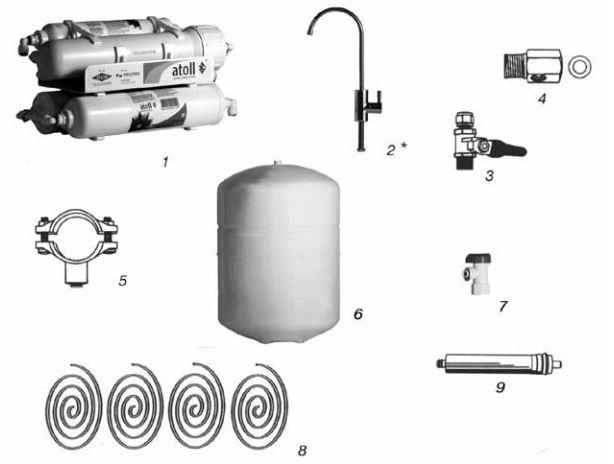 комплект поставки Atoll A-450 STD Compact